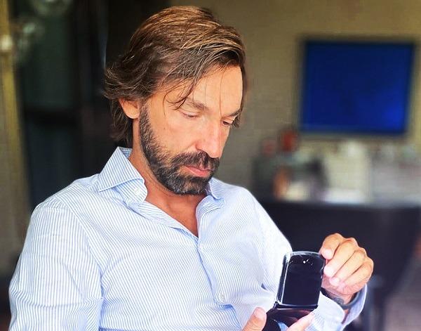 Andrea Pirlo scelto come testimonial da Motorola Italia