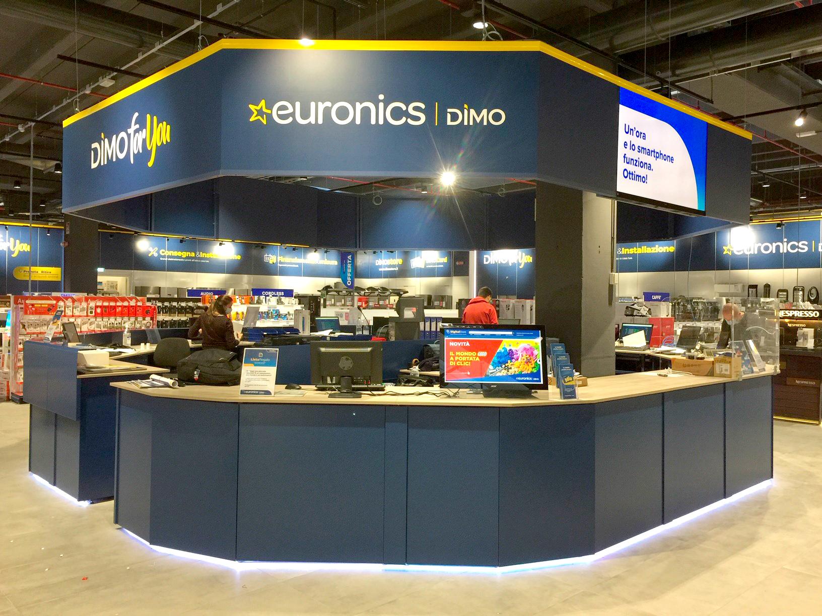 Nuovi store Euronics a Como e Osnago (LC)